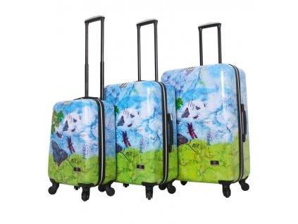Sada cestovních kufrů MIA TORO HALINA H1007/3  + LED svítilna