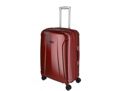 Travelite Elbe 4w M Red  + LED svítilna