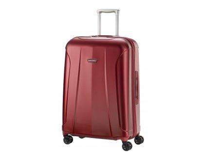Travelite Elbe 4w M+ Red  + LED svítilna