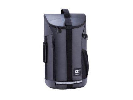 CAT batoh TARP POVER NG CAPITOL, černý  + LED svítilna