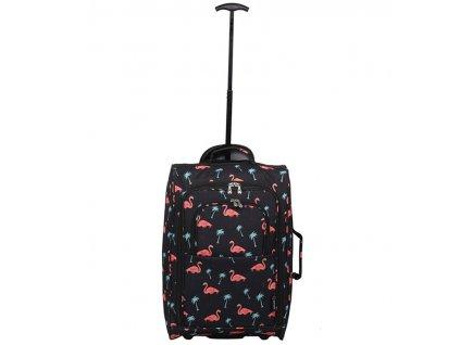 Kabinové zavazadlo CITIES T-830/1-55 - flamingo