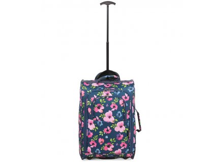 Kabinové zavazadlo CITIES T-830/1-55 - floral
