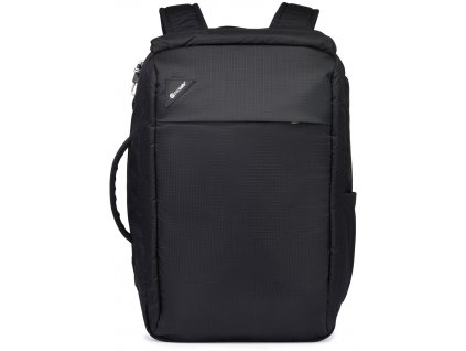 PACSAFE batoh VIBE 28L BACKPACK jet black  + LED svítilna