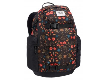 Burton KILO PACK BLACK FRESH PRESSED 27 l  + LED svítilna