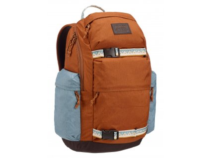 Burton KILO PACK CARAMEL CAFE HEATHER 27 l  + LED svítilna