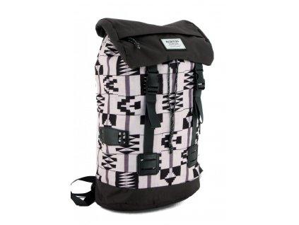 Tinder+Pack+Burton+Rucksack+grafische+Muster+schwarz+grau+weiß 15396 0