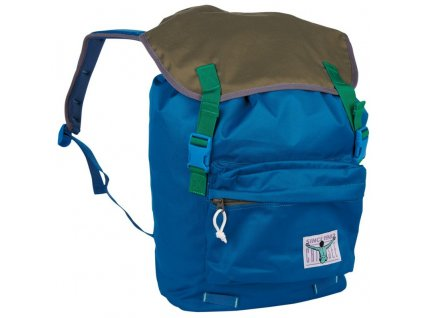 Chiemsee Riga backpack Blue saphire/Olive night  + LED svítilna