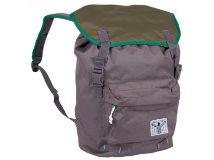 Chiemsee Riga backpack Excalibur/Olive night  + LED svítilna