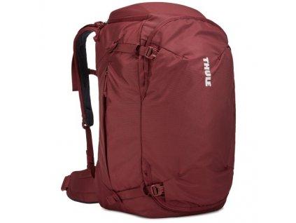 Thule Landmark batoh 40L pro ženy TLPF140 - tmavě červený  + LED svítilna