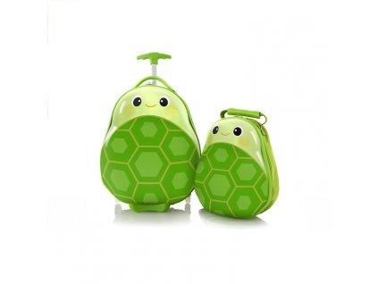 Heys Travel Tots Kids Turtle  + LED svítilna