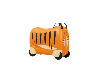 Samsonite Dream Rider Spinner Tiger Toby  Samsonite Kabinový kufr Dream Rider CK8 25 l Tiger Toby