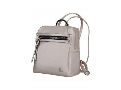 Titan Spotlight Zip Backpack Metallic Pearl  + LED svítilna