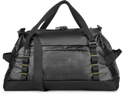 PACSAFE taška PACSAFE DRY LITE 40L DUFFEL black  + LED svítilna