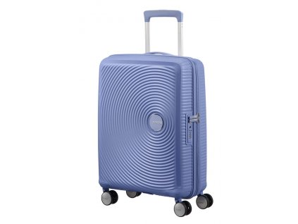 American Tourister SOUNDBOX S 55/20 TSA EXP - DENIM BLUE  + LED svítilna