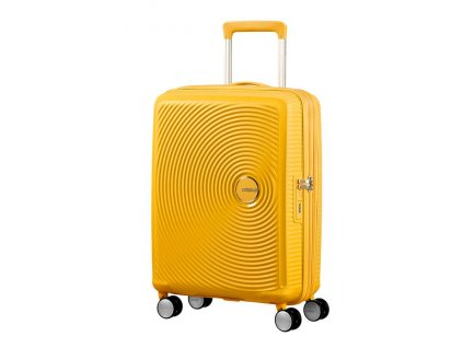 American Tourister SOUNDBOX S 55/20 TSA EXP - GOLDEN YELLOW