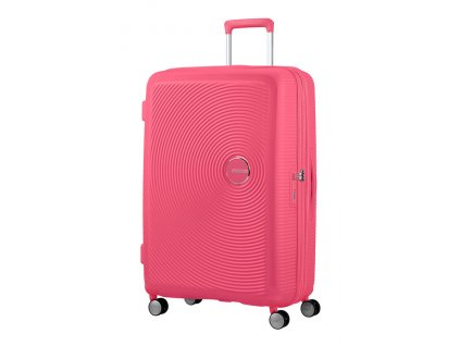 American Tourister SOUNDBOX L 77/28 TSA EXP - HOT PINK  + LED svítilna