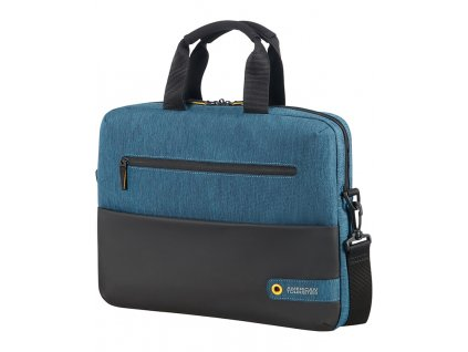 94077 5 american tourister city drift laptop bag 13 3 14 1 black blue