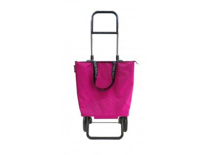 Rolser nákupní taška na kolečkách Mini Bag Plus MF  + LED svítilna