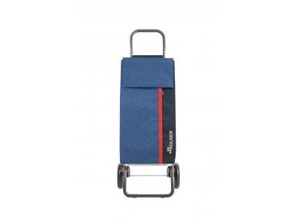 Rolser nákupní taška na kolečkách Kangaroo Tweed  + LED svítilna
