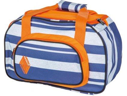 NITRO taška DUFFLE BAG XS heather stripe