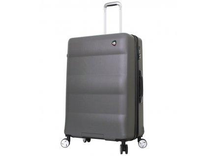 Cestovní kufr MIA TORO M1703/3-L - charcoal  + LED svítilna