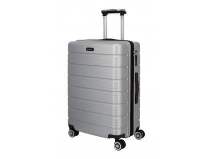 Travelite Soho 4w M Silver  + LED svítilna