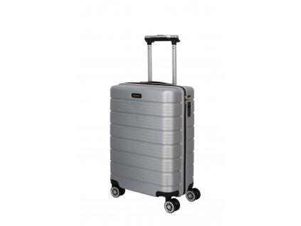 Travelite Soho 4w S Silver  + LED svítilna