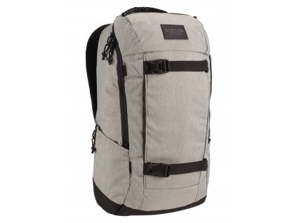 Burton KILO 2.0 GRAY HEATHER 27 l  + LED svítilna