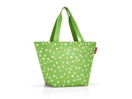 Reisenthel Shopper M Spots Green
