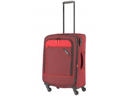 Travelite Derby 4w M Red  + LED svítilna