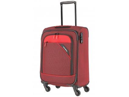 Travelite Derby 4w S Red  + LED svítilna