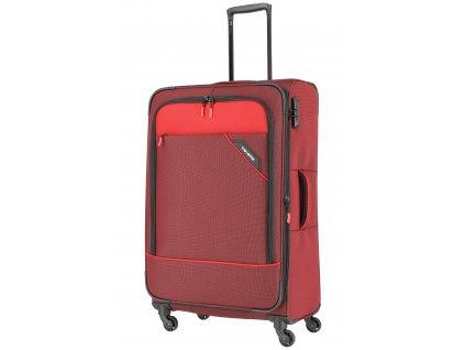 Travelite Derby 4w L Red  + LED svítilna
