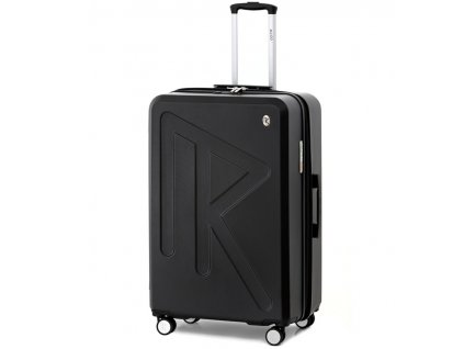 Cestovní kufr Raido Numero Uno Black Mood Line L  + LED svítilna