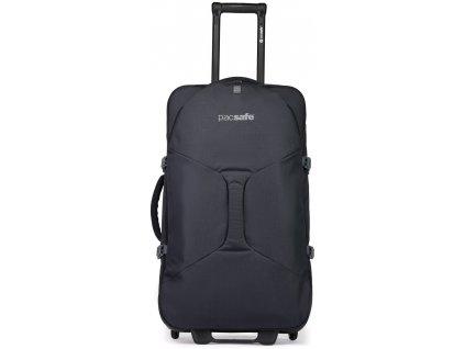 PACSAFE kufr VENTURESAFE EXP29 WHEELED LUGGAGE black  + LED svítilna
