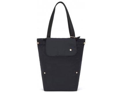 PACSAFE taška CITYSAFE CX PACKABLE VERTICAL TOTE black  + LED svítilna