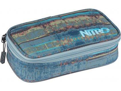 NITRO penál PENCIL CASE XL frequency blue