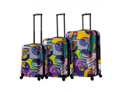Sada cestovních kufrů MIA TORO M1311/3  + LED svítilna
