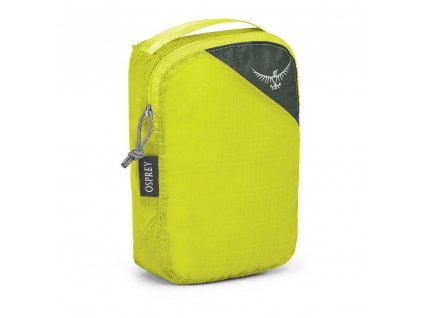 ul packing cube s side electric lime 2