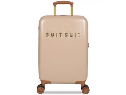 Kabinové zavazadlo SUITSUIT® TR-7108/3-S - Fab Seventies Warm Sand  + LED svítilna
