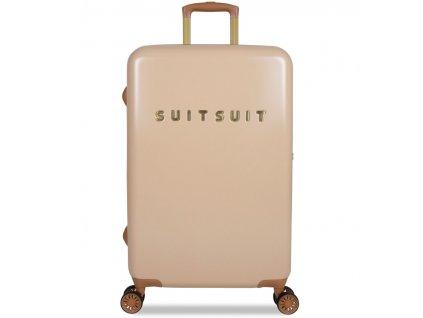 Cestovní kufr SUITSUIT® TR-7108/3-M - Fab Seventies Warm Sand  + LED svítilna