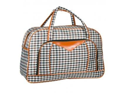 Cestovní taška REAbags LL37 - černá/hnědá