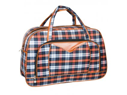 Cestovní taška REAbags LL37 - modrá/oranžová