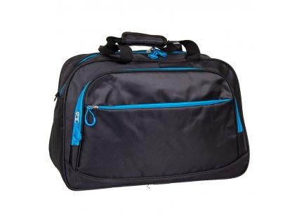 Cestovní taška REAbags LL35 - černá/modrá