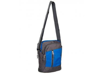 Taška přes rameno REAbags LL22 - šedá/světle modrá