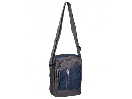 Taška přes rameno REAbags LL22 - šedá/tmavě modrá