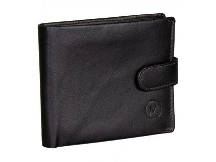 Pánská kožená peněženka METRO MTB09 - černá