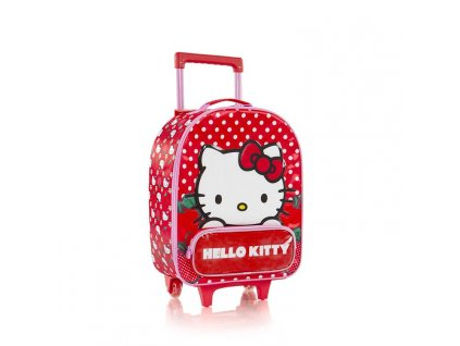 Heys Kids Soft Hello Kitty Red  + LED svítilna