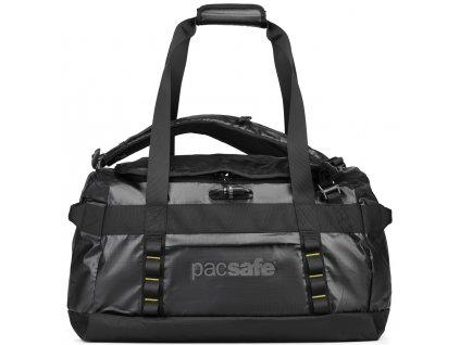 PACSAFE taška PACSAFE VENTURESAFE 60L ANTI-THEFT DUFFEL black  + LED svítilna