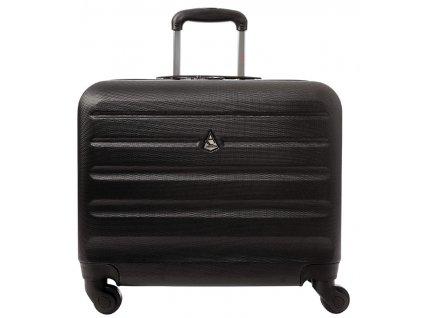 Kufr příruční na notebook AEROLITE WLB41-322 ABS - černá  + LED svítilna