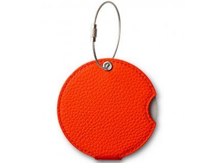 Jmenovka na kufr Addatag PU - Mandarin